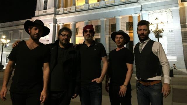 En Madrid, la noche que filmaron un videoclip