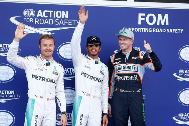 Hamilton partirá de la primera posición en el GP de Austria