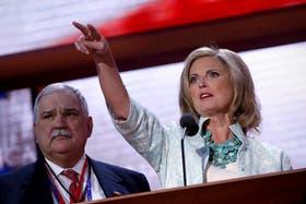 Anne Romney fue la oradora estrella ayer en Tampa
