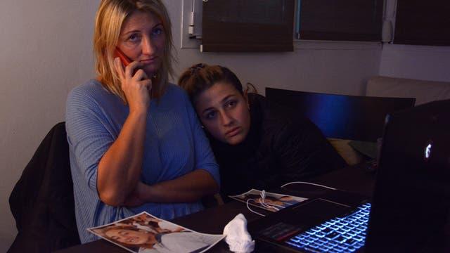 Verónica, la madre de Lucía, en busca de justicia por su hija