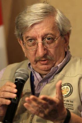 El ex canciller argentino Dante Caputo