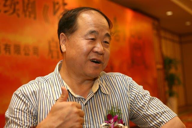 Mo Yan, ganador del Nobel de Literatura