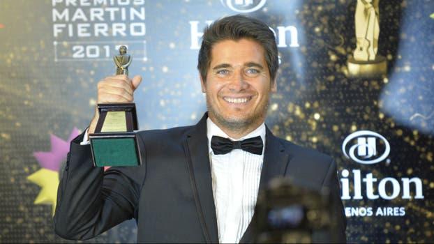Guillermo Andino recibió un premio homenaje a su papá. Foto: LA NACION / Gerardo Viercovich