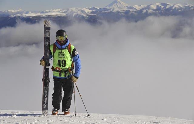El centro de esquí de San Martín de los Andes fue sede del Freeride World Tour Qualifier.