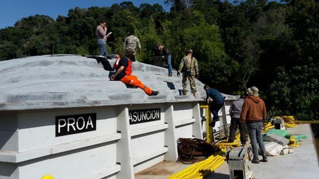 Secuestran 10.000 kilos de marihuana que venían por la hidrovía hacia la Argentina