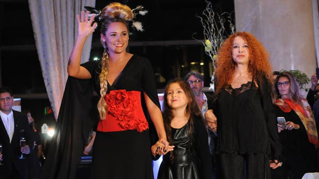 Rocío Oliva debutó como modelo