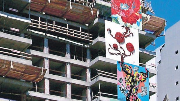 El arte como aliado: para el proyecto ubicado en Belgrano R, artistas jóvenes realizaron una obra