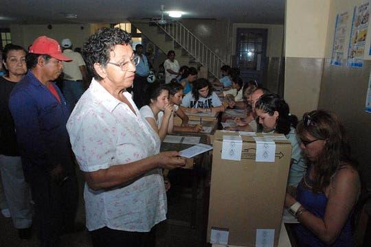 En Formosa la gente comenzó a votar desde muy temprano. Foto: Télam