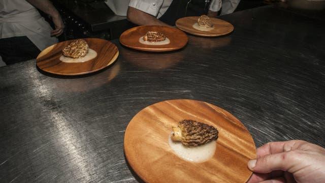 La cena en Tegui constó de nueve pasos