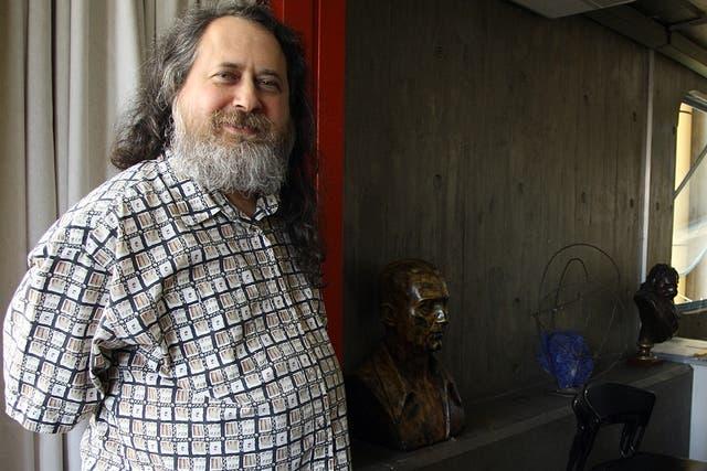 Richard Stallman en su paso por Buenos Aires, en el marco de la Conferencia Internacional de Software Libre