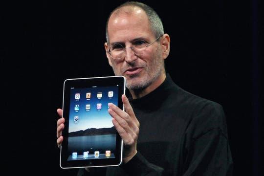 Steve Jobs en el lanzamiento de la iPad en 2010. Foto: Reuters