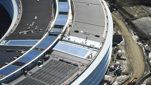 El Apple Campus 2 comenzó en 2011 y se esperaba su apertura para 2015, pero recién estará disponible este año