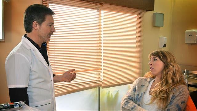 Adrián Suar y Florencia Bertotti, el dentista casado y la paciente que le mueve el piso sentimentalmente.