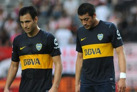 Chiqui Pérez (derecha) volvió y jugó mal