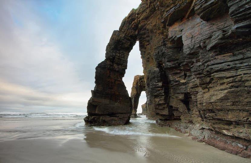 Playa de Las Catedrales, Ribadeo, España. Foto: National Geographic
