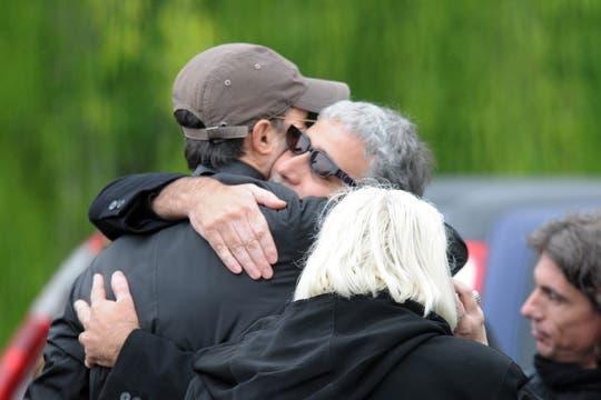 Familiares y amigos despidieron los restos de la actriz. Foto: Grupo 44