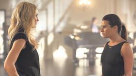 Kate Hudson y Lea Michele, en una escena del cuarto año de Glee, que comienza el jueves por Fox