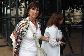 La ex ministra de Economía Felicia Micheli llega a los tribunales de Comodoro PY