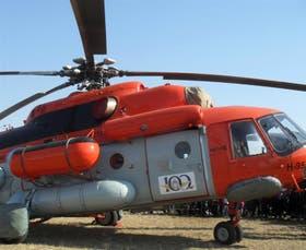 El helicóptero ruso MI 17 puede volar desde el continente hasta la Antártida