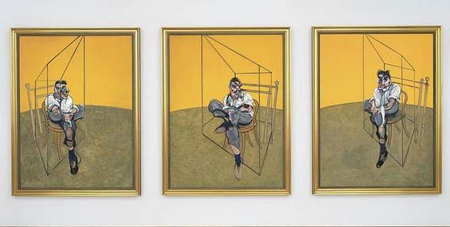 Tres estudios de Lucian Freud, de Francis Bacon