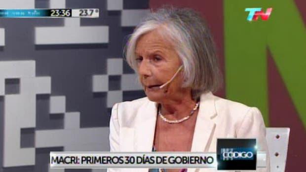 La filósofa y ensayista, Beatriz Sarlo