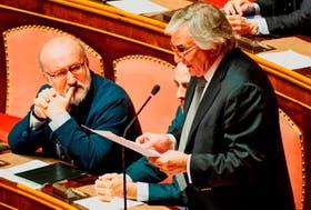 El senador ítalo-argentino Claudio Zin, del Movimiento Asociativo Italianos en el Exterior