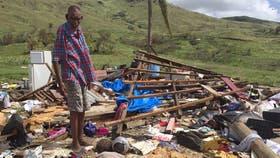 Más de 20 muertos en las islas Fiji tras el paso del ciclón Winston