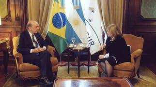 Fuerte gesto de apoyo al gobierno de Brasil