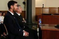 """Lionel Messi, en el banquillo de los acusados: """"Confiaba en mi papá, nunca se me ocurrió que me fuera a engañar"""""""