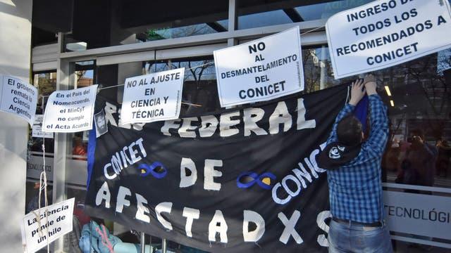 Los trabajadores del Conicet reclaman por la incorporación de 500 trabajadores
