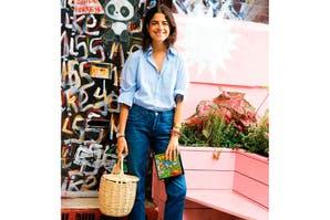 Canastas en la city: la moda veraniega que reemplaza a las carteras