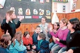 En el Colegio Saint Jean forman a los docentes para trabajar con chicos que presentan capacidades diferentes