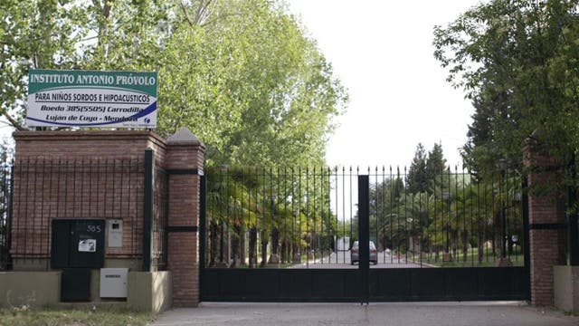 El Instituto Antonio Próvolo, en Luján de Cuyo, era considerado uno de los mejores en su estilo para el aprendizaje de niños sordos