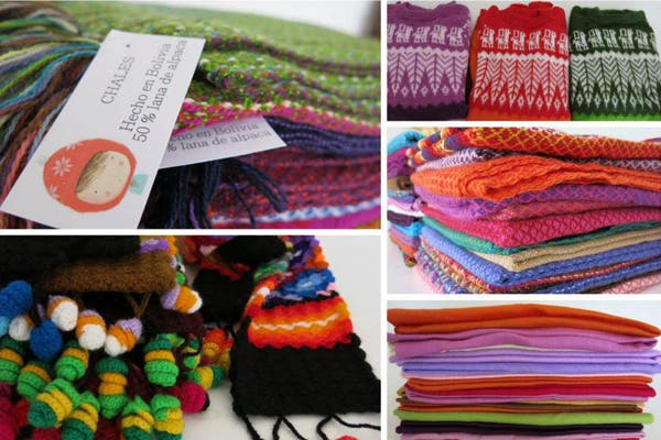Abrigos tejidos peruanos ($320). Foto: Foto retoque y producción: Ariela Bernater