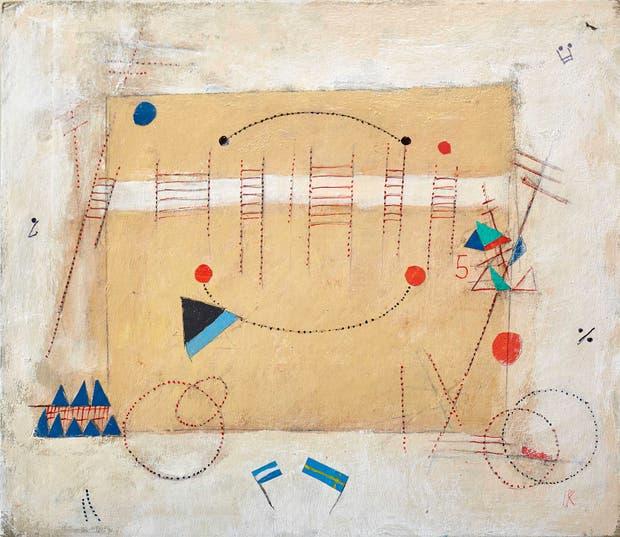 Obra de la artista Ides Kihlen