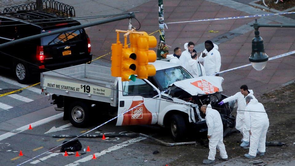 Resultado de imagen para Ataque en Manhattan donde murieron ocho personas, ayer