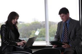 Mariana Torres y Mariano Morán, dos militantes de la Web