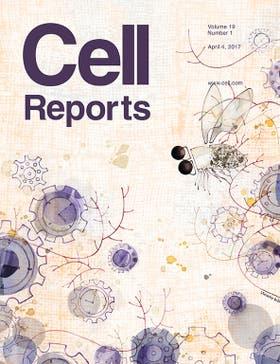La portada de Cell Reports