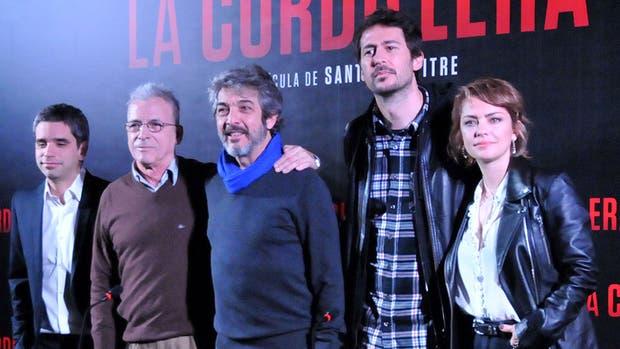 Gerardo Romano, Ricardo Darín, Santiago Mitre y Dolores Fonzi