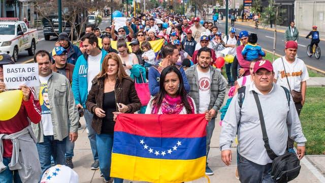 La crisis sacude a Venezuela