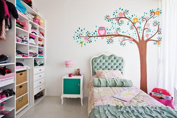 Cuartos con dibujos en la pared imagui for Imagenes de cuartos