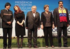 Acompañados por Evo Morales, los presidentes del Mercosur redoblaron su ataque a EE.UU. y Europa