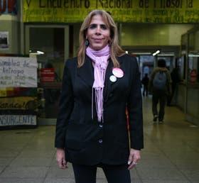 Jorgelina Belardo tiene 42 años y lucha por confirmar su identidad
