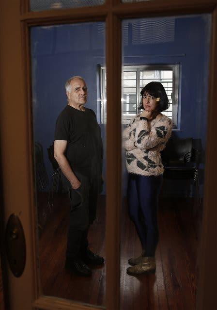 Roberto Jacoby y Fernanda Laguna. Foto: Marcelo Gómez