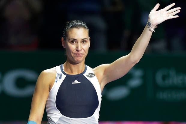 Circuito Wta : Circuito wta se retiró la tenista flavia pennetta