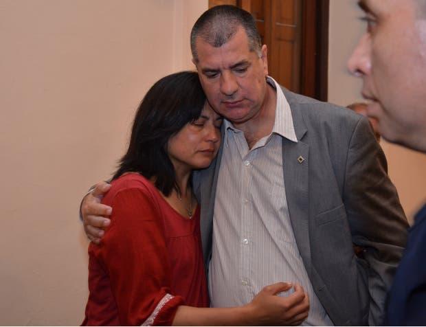 Andrea Lescano y Néstor García, los padres de Micaela, buscarán una pena mayor para Pavón