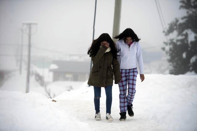 En Bariloche, ayer hubo -7,4°C