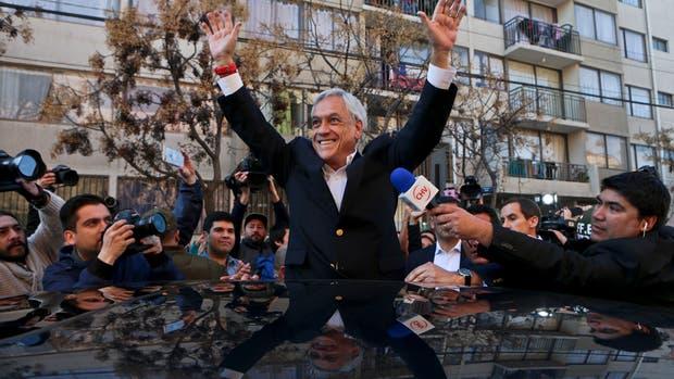 El ex presidente chileño Sebastián Piñera se impone en las primarias