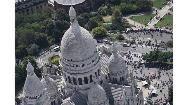 Las cúpulas de la Basílica del Sacré Cour