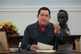 El último discurso de Chávez